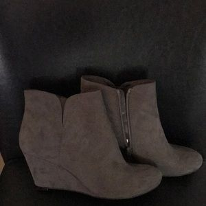 Madeline Girl Grey Ankle Boots